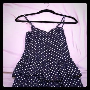 short dotted dress, never used for sale